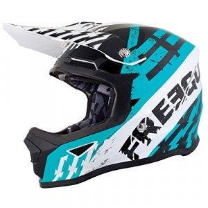 Casco cross SHOT Freegun XP4 Outlaw Azul L