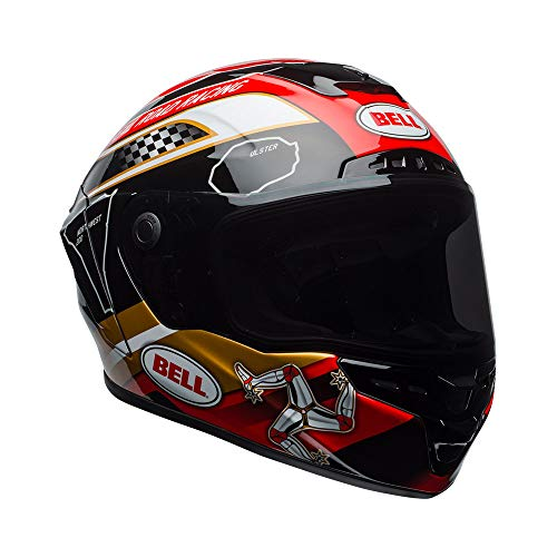 Casco Bell Star MIPS Isle of Man Negro/Gold S 1