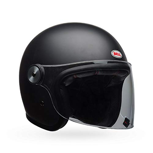 Casco Bell Riot Solid Black Matt L 1
