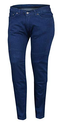 Pantalones mujer Bikers Gear Kevlar Azul 12 1