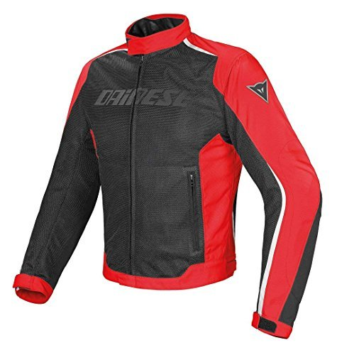 Chaqueta Dainese Hydra Flux D-Dry Negro/Rojo 44 1