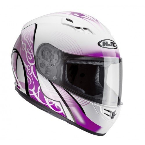 Casco HJC CS-15 Valenta Mc10 Blanco/Morado M 1