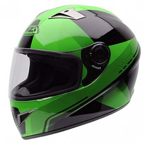 Casco NZI Vital Graphics X Vit Fluo Green M