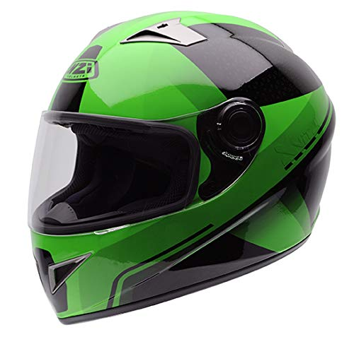 Casco NZI Vital Graphics X Vit Fluo Green M 1