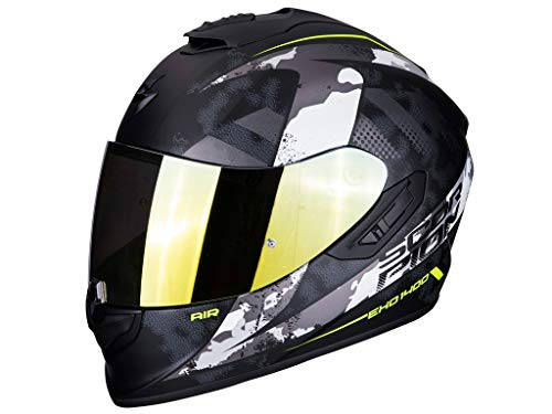 Casco Scorpion Exo 1400 Air Sylex Black/Silver M 1