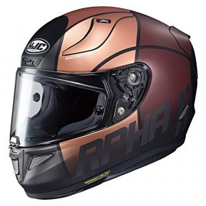 Casco HJC RPHA 11 Quintain Oro/Marron S