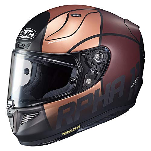 Casco HJC RPHA 11 Quintain Oro/Marron S 1