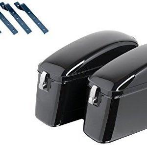 Alforjas Rígidas universales Customacces AMZ006N Negro