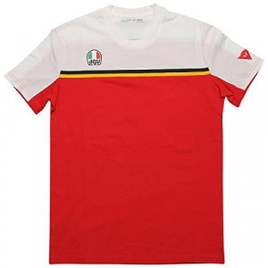 Camiseta Dainese Barry Sheene Blanco/Rojo XS