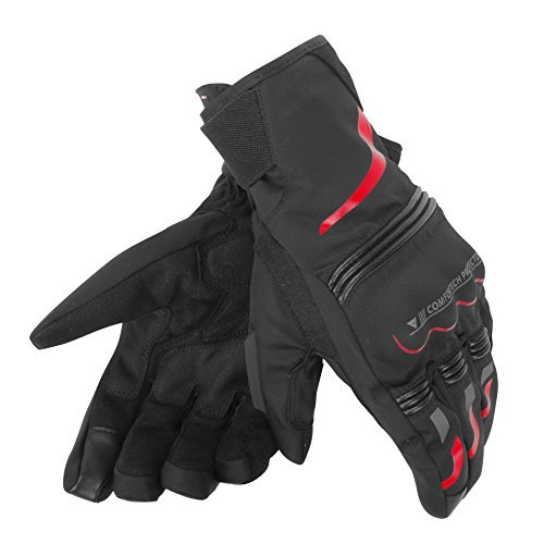 Guantes Dainese Tempest Negro/Rojo XS 1
