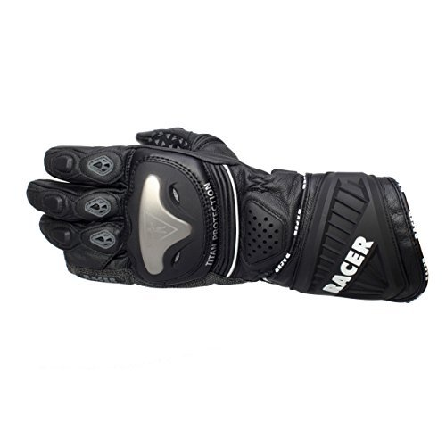 Guantes mujer Racer Sicuro Negro M 1