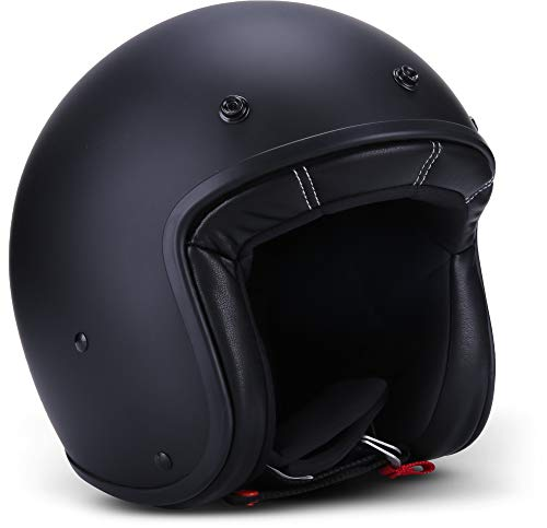 Casco jet Rebel R9 Negro XXL 1