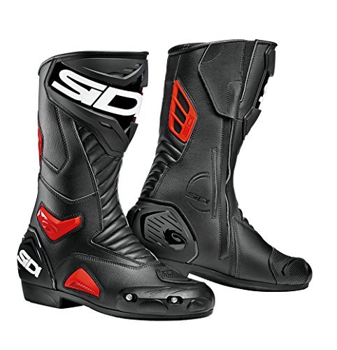 Botas Sidi Performer Negro/Rojo 44 1