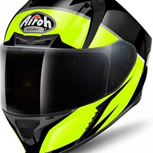 Casco Airoh Valor Eclipse Negro/Amarillo XL
