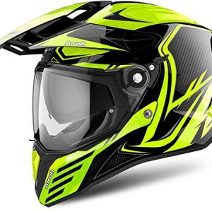 Casco Airoh Commander Carbon Yellow S