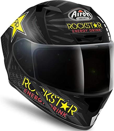Casco Airoh Valor Rockstar Negro Mate XS 1