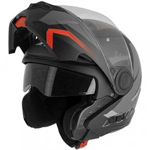 Casco modular Astone RT800 Energy Negro/Rojo M
