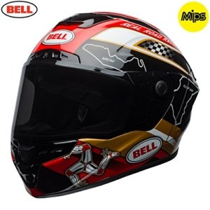 Casco Bell Star MIPS Isle of Man Negro/Oro XS