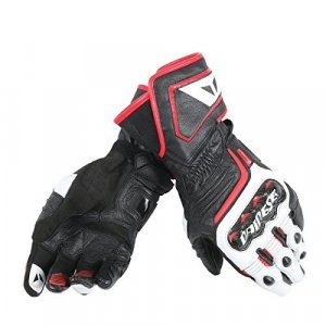 Guantes Dainese Carbon D1 Long Negro/Rojo/Blanco XXL