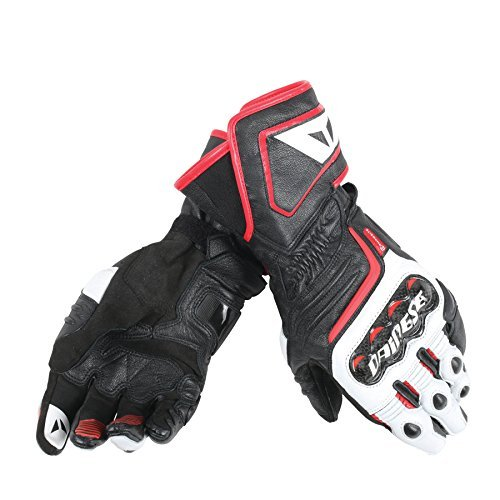 Guantes Dainese Carbon D1 Long Negro/Rojo/Blanco XXL 1