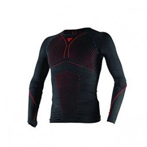 Camiseta térmica Dainese D-Core Thermo Tee LS NegroXS/S