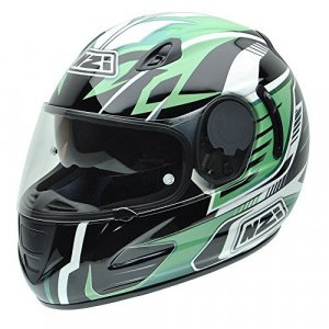 Casco NZI Premium S Graphics SV Green Arrows S