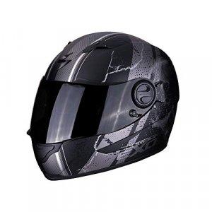 Casco Scorpion Exo 490 Dar Matt Negro/plata M
