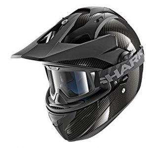 Casco Shark Explore-R Carbon Skin DSK Negro S