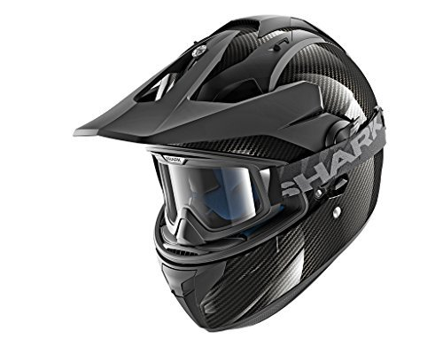 Casco Shark Explore-R Carbon Skin DSK Negro S 1