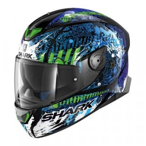 Casco Shark Skwal 2 Switch Rider 2 Negro/Azul L