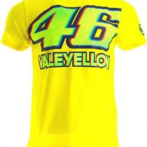 Camiseta VR46 Rossi 46 Valeyellow Amarillo XL
