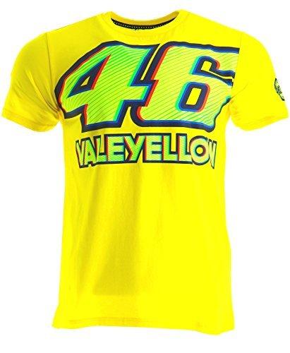 Camiseta VR46 Rossi 46 Valeyellow Amarillo XL 1