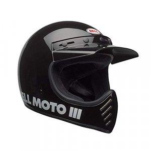 Casco Bell Moto 3 Classic Negro XL