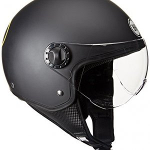 Casco jet BHR One 801 Batman Negro M