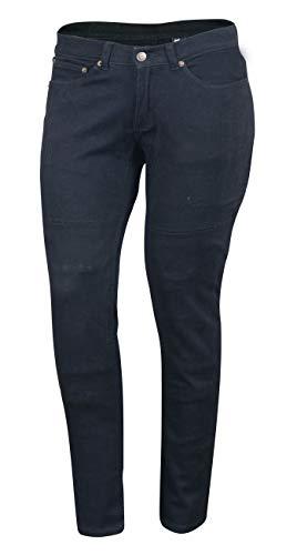 Pantalones mujer Bikers Gear Kevlar Negro 42S L 1