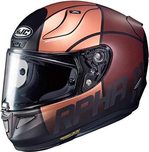 Casco HJC RPHA 11 Quintain Oro/Marron XL 1
