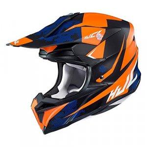 Casco HJC i50 Tona Negro/Naranja L
