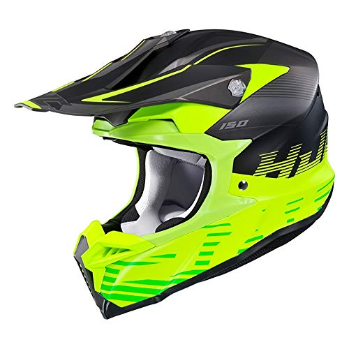 Casco HJC i50 Fury MC5SF Negro/Amarillo Hi XS 1