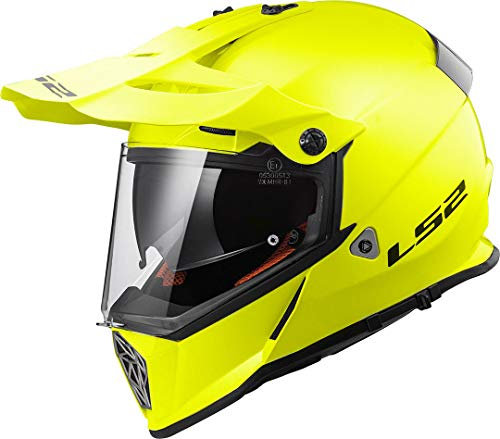 Casco LS2 Cross Pioneer H-V Amarillo XL 1