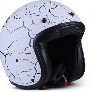 Casco Rebel R9 Blanco/Negro XXL