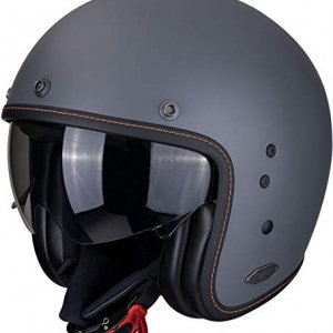 Casco Scorpion Belfast Cement Gris Mate S