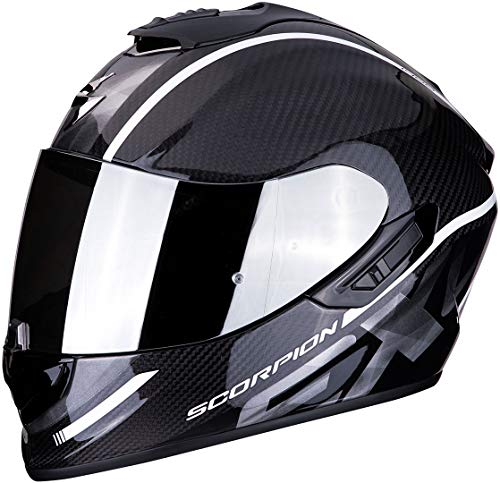 Casco Scorpion Exo 1400 Air Carbon Grand White XL 1
