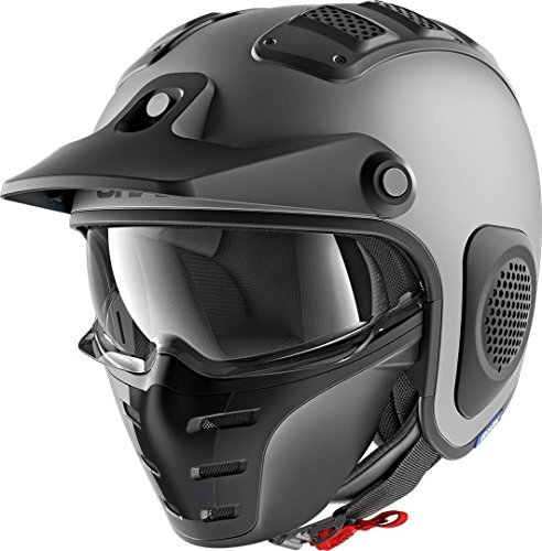 Casco jet Shark X-Drak Antracita XL 1