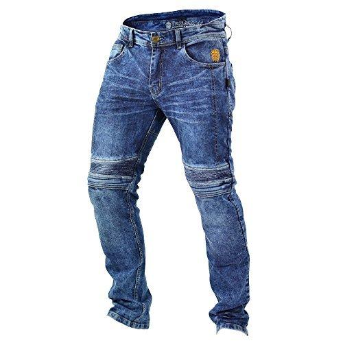 Pantalones Trilobite Kevlar Dupont Azul 40 1
