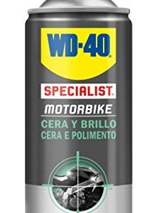 Spray WD-40 Specialist Motorbike Cera y Brillo 400ml