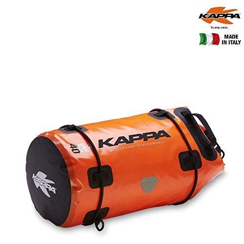 Bolsa rulo Kappa WA405F Impermeable Naranja 40L 1