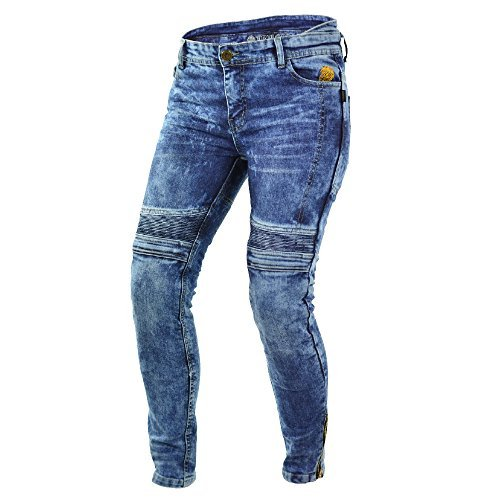 Pantalones mujer Trilobite Kevlar Dupont Azul Washed 28 1