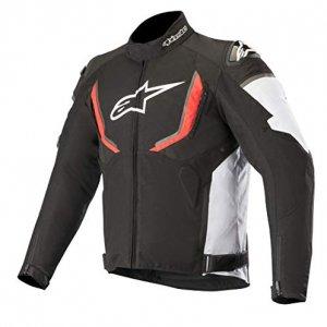 Chaqueta Alpinestars Moto T-GP R V2 Negro/Blanco/Rojo XL