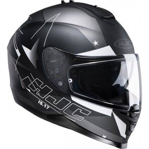 Casco HJC IS-17 Armada MC5F Negro/Blanco XL 1