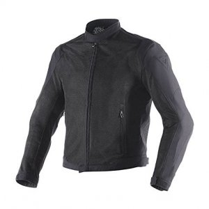 Chaqueta Dainese Air Flux D1 Text Verano Negro 52